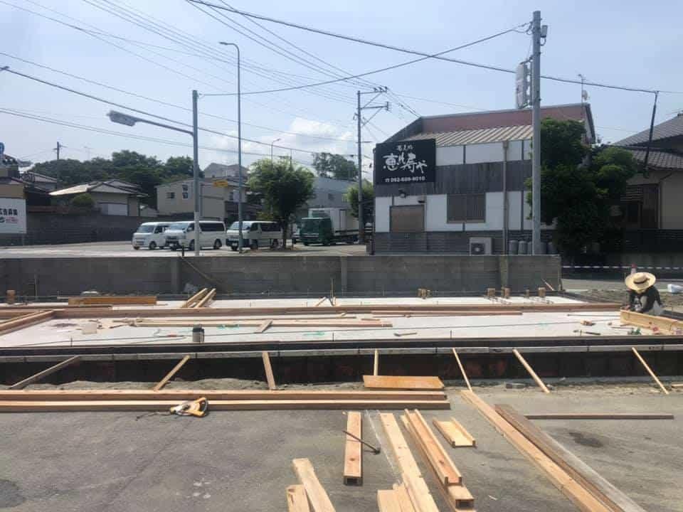 木造事務所基礎確認(福岡)