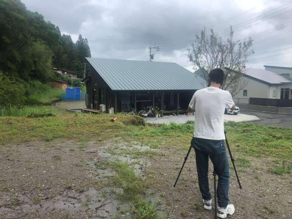 住宅の写真撮影